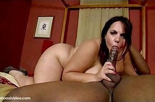 Plump Babe Jane Kush Swallows and Fucks Black hard Cock.  xxx porn