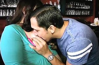Plump Bartender Fucks Stud Waiter in Nightclub.  xxx porn