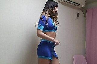Japanese Girl from Lingerie to Race Queen.  xxx porn