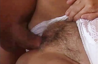 Granny prepares her pussy with dildo fucking.  young-old   xxx porn