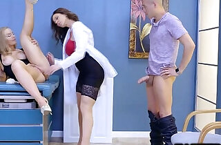 Xander Corvus fuck the doctor from behind doggystyle.  xxx porn