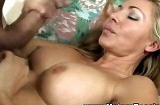 Mature blond sucking for this lucky guy.  sucking   xxx porn