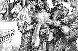 Evil Horror BDSM Artwork.  xxx porn