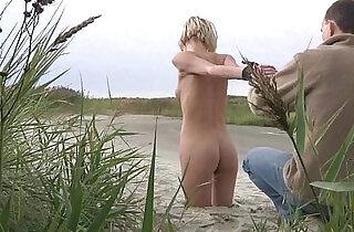 Faithful slave fallow Master in leash to his nest.  xxx porn