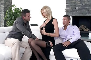 Glamour babe anally in threesome.  double  ,  glamour  ,  penetrated   xxx porn