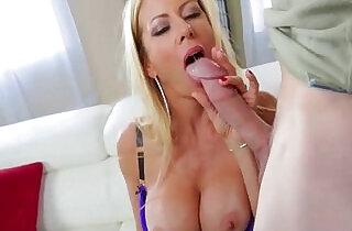 ALEXIS FAWX TALKS DIRTY TO STEPSON.  xxx porn