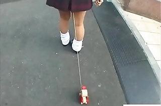 Bizarre JAV enema walk of shame for schoolgirl Subtitles.  tits   xxx porn