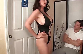 Angry step mom jerking the young man.  xxx porn
