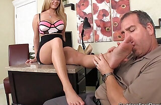 Rich Father Blackmailed Foot Fetish Foot Job.  footfetish  ,  friends  ,  girlfriend  ,  sexy dad   xxx porn