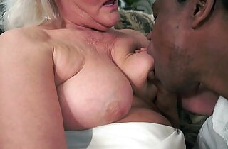 Grey Granny on big black monster mamba cock.  young-old   xxx porn