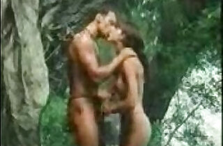 indian girl Getting frisky in the jungle.  xxx porn