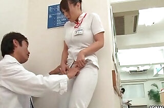 Horny nurse gets seduced in the.  xxx porn