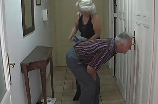 Perverted old parents fuck girl.  xxx porn