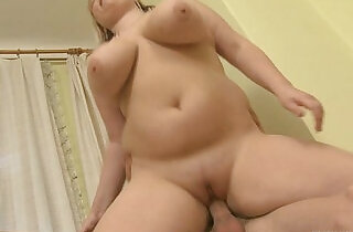 Busty plumper enjoys riding and sucking his big rod.  hitchhiking  ,  plump  ,  ride  ,  sucking   xxx porn