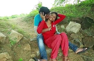 Village Aunty With her Neighbour In Outdoor Latest Telugu Romantic Short.  xxx porn