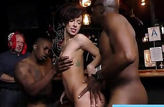 Busty white wife violated by huge mamba black monster cocks.  xxx porn