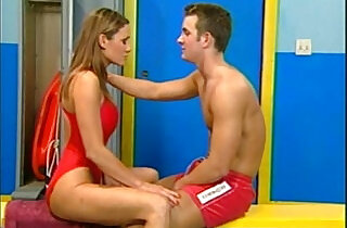 Lifeguards having sex in the locker room!.  xxx porn
