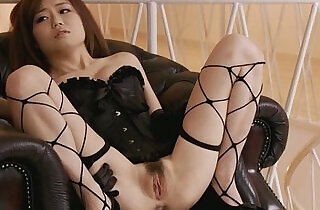 Pretty babe in fishnet pussy fondled and squirting.  xxx porn