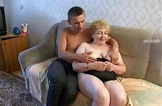 Russian Granny Grandson.  xxx porn