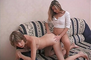 Euro Teen hot Lesbians Strapon Anal Fucking And Pussy Fisting.  xxx porn