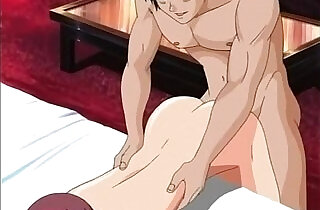 Sexy hentai action in bed.  xxx porn