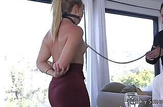 Dudes boss bangs his wife in bondage.  xxx porn