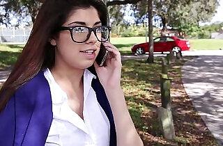 InnocentHigh Hot schoolgirl Ava Taylor in nerdy glasses gets fucked in hardcore.  xxx porn