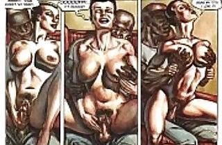 Hardcore Sexual Orgy Comic.  xxx porn
