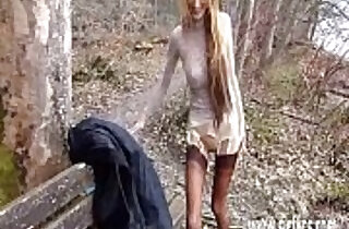 Brutally fisting his wifes hairy pussy in public.  extreme  ,  fetishes  ,  fisted  ,  hairypussy  ,  hitchhiking   xxx porn