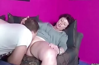 German Step son Caught Mom Masturbate and Seduce to Fuck.  xxx porn