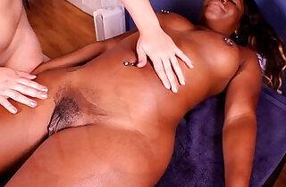 Harmonie Marquise massage big ebony clit.  massage   xxx porn