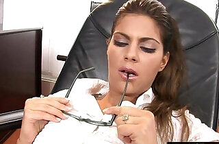 Daydreaming about getting her ass plowed by the boss.  xxx porn