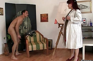 Hot mature sluty lady jumps on his cock.  xxx porn