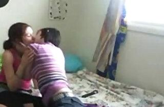 Cousin Lesbians on cam.  xxx porn
